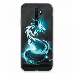 Coque pour Oppo A9 (2020) Dragon Bleu