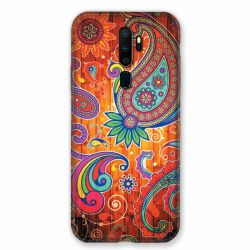 Coque pour Oppo A9 (2020) Fleur Psychedelic