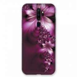 Coque pour Oppo A9 (2020) Fleur Violette Montante