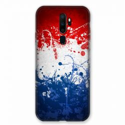 Coque pour Oppo A9 (2020) France Eclaboussure