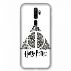 Coque pour Oppo A9 (2020) WB License Harry Potter Triangle Blanc