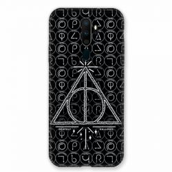 Coque pour Oppo A9 (2020) WB License Harry Potter Triangle noir