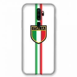 Coque pour Oppo A9 (2020) Italie 3 Blanc