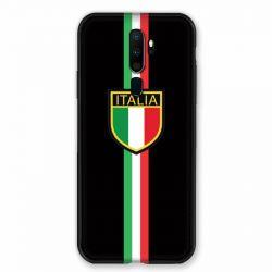 Coque pour Oppo A9 (2020) Italie 3 Noir