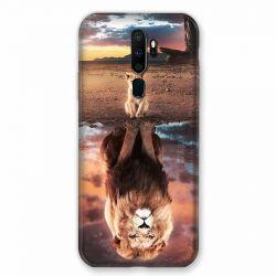 Coque pour Oppo A9 (2020) Lion Reflet