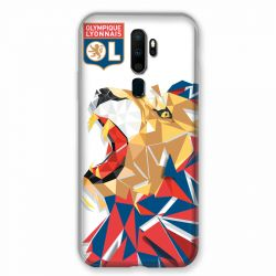 Coque pour Oppo A9 (2020) License Olympique Lyonnais OL - lion color