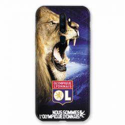 Coque pour Oppo A9 (2020) Licence Olympique Lyonnais - Rage de vaincre
