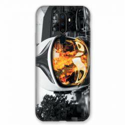 Coque pour Oppo A9 (2020) Pompier Casque Feu
