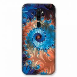 Coque pour Oppo A9 (2020) Psychedelic Spirale