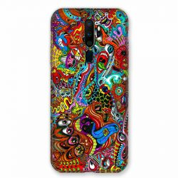 Coque pour Oppo A9 (2020) Psychedelic Yeux