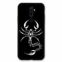 Coque pour Oppo A9 (2020) Scorpion Noir