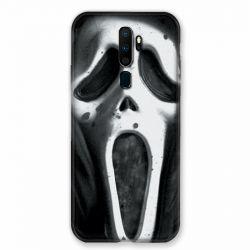 Coque pour Oppo A9 (2020) Scream Noir