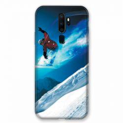 Coque pour Oppo A9 (2020) Snowboard Saut