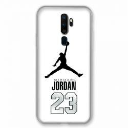 Coque pour Oppo A9 (2020) Jordan 23 Blanc