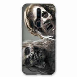 Coque pour Oppo A9 (2020) Zombie Blanc