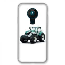 Coque pour Nokia Nokia 5.3 Agriculture Tracteur Blanc