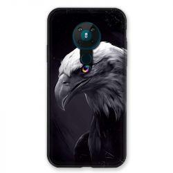 Coque pour Nokia Nokia 5.3 Aigle Royal Noir