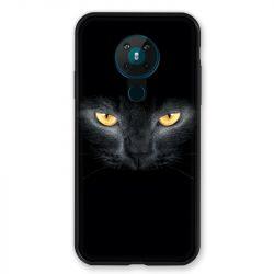 Coque pour Nokia Nokia 5.3 Chat Noir