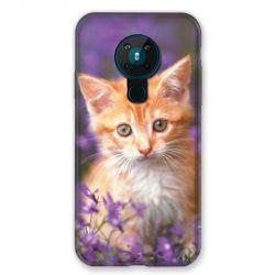 Coque pour Nokia Nokia 5.3 Chat Violet