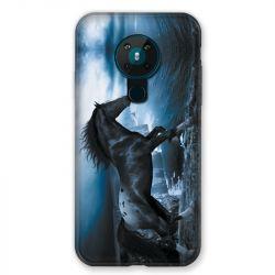Coque pour Nokia Nokia 5.3 Cheval Noir