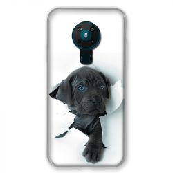 Coque pour Nokia Nokia 5.3 Chien Noir