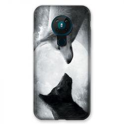 Coque pour Nokia Nokia 5.3 Loup Duo