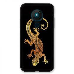 Coque pour Nokia Nokia 5.3 Animaux Maori Lezard Noir