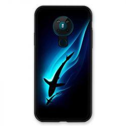 Coque pour Nokia Nokia 5.3 Requin Noir