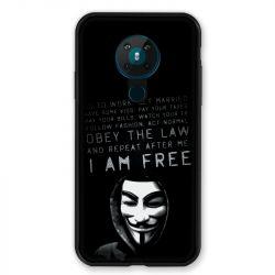 Coque pour Nokia Nokia 5.3 Anonymous I am free