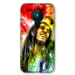 Coque pour Nokia Nokia 5.3 Bob Marley Color