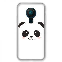 Coque pour Nokia Nokia 5.3 Panda Blanc