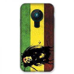 Coque pour Nokia Nokia 5.3 Bob Marley Drapeau