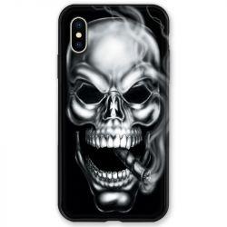 Coque pour iphone X / XS tete de mort