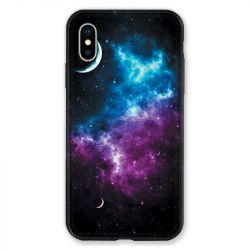Coque pour iphone X / XS Espace Univers Galaxie