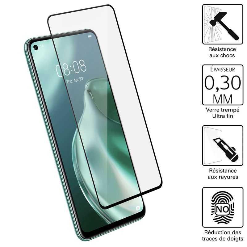 Vitre protection / Verre trempé 3D incurvé Huawei P40 LITE 5G
