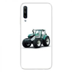 Coque pour Huawei Honor 9X Agriculture Tracteur Blanc