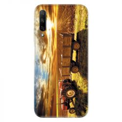 Coque pour Huawei Honor 9X Agriculture Tracteur color