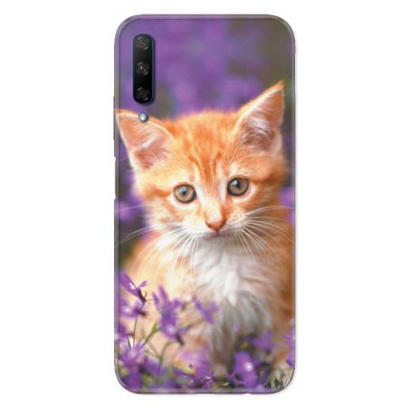 Coque pour Huawei Honor 9X Chat Violet