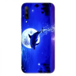 Coque pour Huawei Honor 9X Dauphin lune