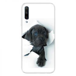 Coque pour Huawei Honor 9X Chien noir