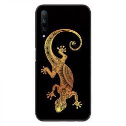 Coque pour Huawei Honor 9X Animaux Maori lezard noir