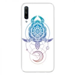 Coque pour Huawei Honor 9X Animaux Maori tortue color