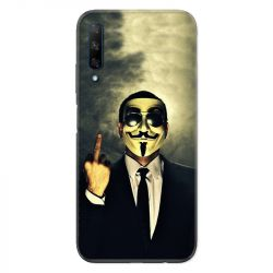 Coque pour Huawei Honor 9X Anonymous doigt