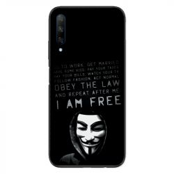 Coque pour Huawei Honor 9X Anonymous I am free