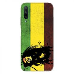 Coque pour Huawei Honor 9X Bob Marley Drapeau