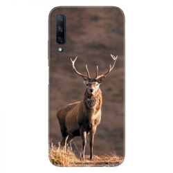Coque pour Huawei Honor 9X chasse chevreuil Blanc