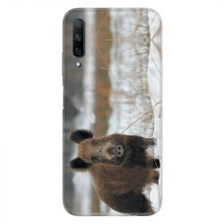 Coque pour Huawei Honor 9X chasse sanglier Neige