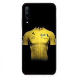 Coque pour Huawei Honor 9X Cyclisme Maillot jaune
