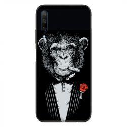 Coque pour Huawei Honor 9X Decale Singe Mafia