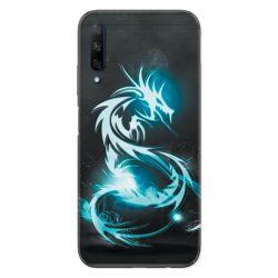 Coque pour Huawei Honor 9X Dragon Bleu